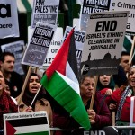London Gaza protest
