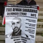 BBC hunger strike demo 6